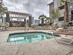 Walking distance from the Bellagio, this 1-bedroom, 1-bathroom vacation rental condo provides the ideal location for...