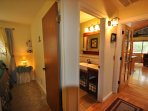 Upstairs hallway, Unit 7 Lot 132 Pine Mountain Lake Vacation Rental The Wolffs Den