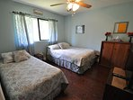 Guest bedroom, Queen + Twin. Pine Mountain Lake Vacation Rental, Unit 4 Lot 67 The Buck Stops Here