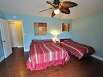 Master bedroom, Queen + Twin. Pine Mountain Lake Vacation Rental, Unit 4 Lot 67 The Buck Stops Here