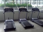 Fully equipped gym/fitness center for guests use, free of charge.