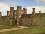 Knole House sits proudly in the centre of Knole Park and is a delightful 15 mins walk from HighBanks