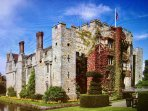 Hever Castle the famous home of Anne Boleyn is just 20 mins drive from HighBanks