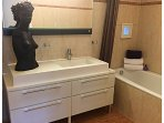 You have access to a private modern bathroom with bath and separate toilet.