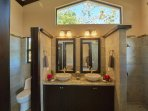 Master ensuite bath with ocean views