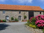 La Vacherie is a beautiful stone cottage, converted from a former cow barn.