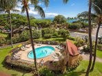 One of 3 pool areas in Maui Vista's 9 acres.