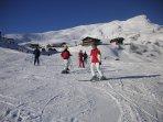 Great ski slopes - over 200Km