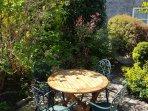 Suntrap garden