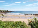A visit to Coldingham's beautiful beach makes a great day out.