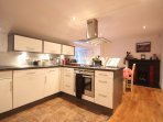 Fully fitted kitchen with everything you would need or want for, to cater for your family/friends.