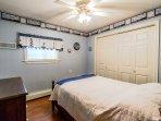 Bedroom 3 has double bed