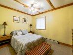 Bedroom 2 has double bed