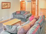 If you're looking for privacy, head down to the basement and watch TV or read a book in the bonus room.