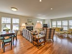 The beautiful home boasts 2,168 square feet of tastefully-appointed living space.
