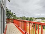 Enjoy deck access from each of the 3 bedrooms.