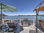 NEW! Lakefront 2BR Clearlake Home w/Private Beach!
