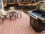 Back deck, BBQ grill