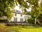 Hawkwell House Hotel is across the road from the cottage, and welcomes non residents