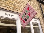 Iffley Village Shop is run by villagers, and offers a good selection of groceries. Closed Wed PM.