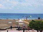 Playa de las vistas. Foto desde el Balcón
