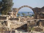 Visit the world heritage sites in Paphos