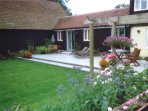 Cart Lodge, Boundary Farm, Framlingham. A charming farm cottage.