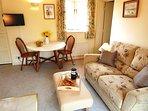Cart Lodge lounge/dining area