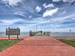 Only steps away you'll find the Fairhope Municipal Pier and Park, where you can enjoy oceanside strolls and saltwater...