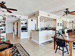 Spacious open living/dining areas and kitchen