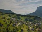 Le hameau du Désert en Chartreuse