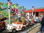 Hunstanton funfair .. fun for big and little kids ! 10 minute drive from us
