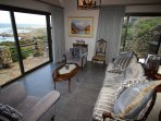 Downstairs lounge with ocean views