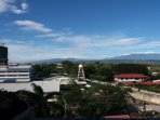 Veranda City view