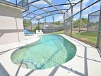 Alternative view of pool