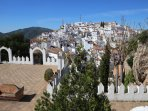 Voted the prettiest village in Andalucia: Comares - 15 minutes drive away.