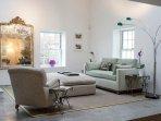 Upper living room area