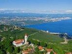 Panoramic view of Veprinac