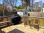 Deck/Backyard