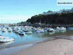 Saundersfoot is a short drive with lovely beaches, shops and places to eat.