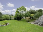 Lovely gardens to relax and unwind in (or to run off excess energy!)