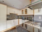 Newly fitted modern kitchen.