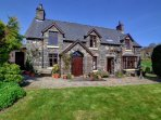 Awel-y-Grug is a self-contained cottage adjoining the owner's attractive stone home