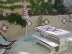 terrasse fermée/jardin