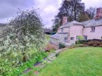 Lancych Cottage adjoins the owners' mansion and has been beautfully renovated to provide spacious accommodation for two