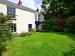 This is a listed Georgian house is in the attractive village of Manorbier