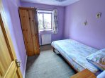 Single bedroom on the first floor, ideal for a child