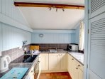 A bright and attractive kitchen, maintained to the highest standards