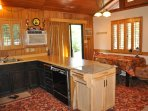 Kitchen. Unit 8 Lot 69. Front of the house. Unit 8 Lot 69 Pine Mountain Lake Pet Friendly Vacation Rental 3/4m to...