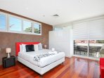 Master Bedroom with Queen Bed and an Ensuite